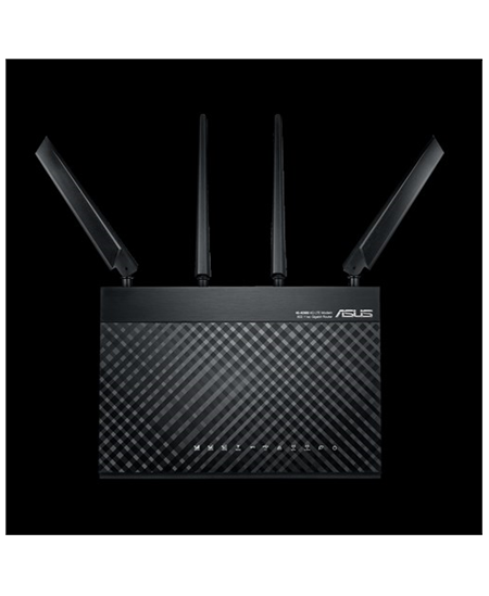 Asus LTE Modem Router 4G-AC68U 802.11ac, 600+1300 Mbit/s, 10/100/1000 Mbit/s, Ethernet LAN (RJ-45) ports 4, Mesh Support Yes, 4G