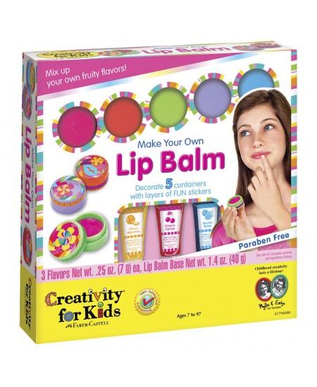 """Kūrybinis rinkinys CREATIVITY FOR KIDS \""""Sukurk savo lūpų balzamą\"""""""