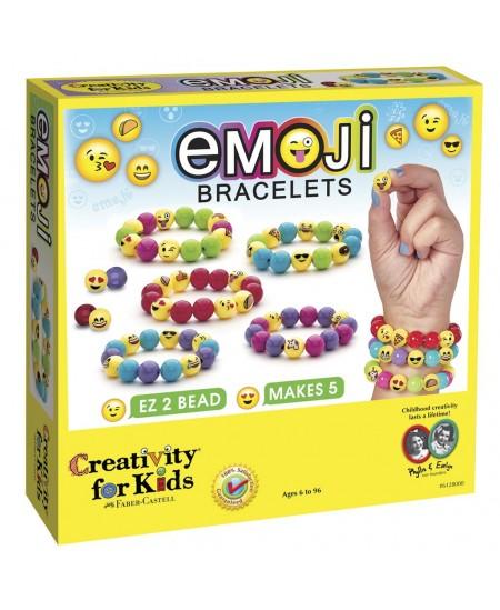 """Kūrybinis rinkinys CREATIVITY FOR KIDS, susikurk \""""Emoji\"""" apyrankes"""