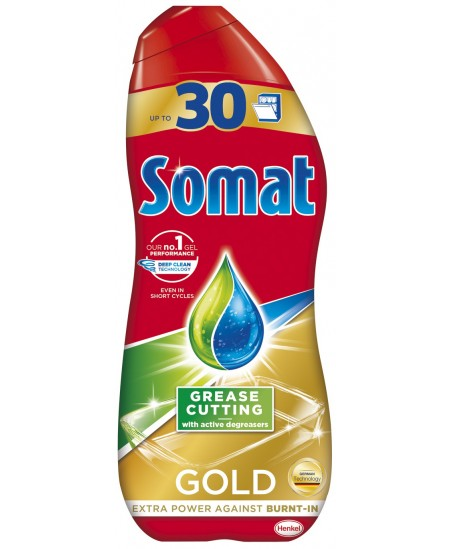 Gelis indaplovėms SOMAT GOLD, 540 ml