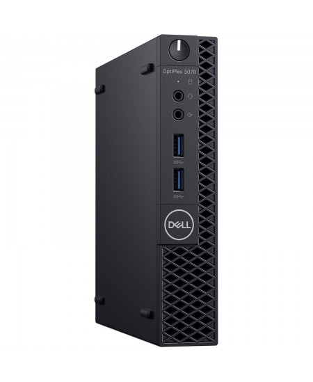 Dell OptiPlex 3070 Desktop, Micro, Intel Core i3, i3-9100T, Internal memory 8 GB, DDR4, SSD 256 GB, Intel HD, Keyboard language