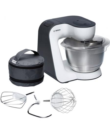 Bosch Kitchen machine MUM54A00 Black, Silver, White, 900 W,