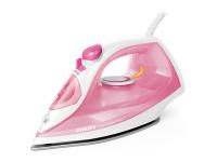 Philips Iron EasySpeed Plus  Rose/ white, 2000 W, Steam iron, Continuous steam 25 g/min, Steam boost performance 100 g/min, Anti