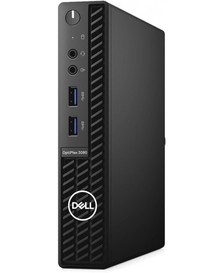Dell OptiPlex 3080 Desktop, Micro, Intel Core i5, i5-10500T, Internal memory 16 GB, DDR4, SSD 512 GB, Intel HD, Keyboard languag