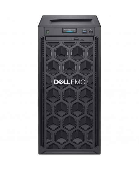 "Dell PowerEdge T40 Tower, Intel Xeon, E-2224G, 3.5 GHz, 8 MB, 4T, 4C, UDIMM DDR4, 2666 MHz, 1000 GB, Up to 3 x 3.5"", No OS,"
