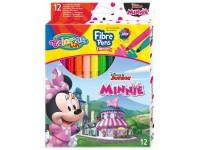 """Flomasteriai COLORINO Disney """"Pelytė Minė"""", 12 spalvų"""