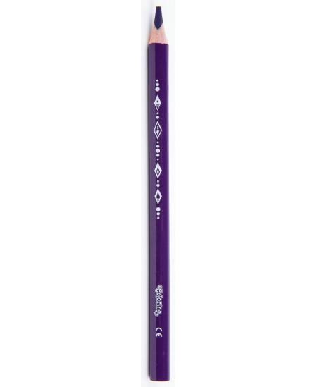 """Spalvoti pieštukai COLORINO Disney """"Ledo šalis"""" JUMBO, tribriauniai, su drožtuku, 12 spalvų"""