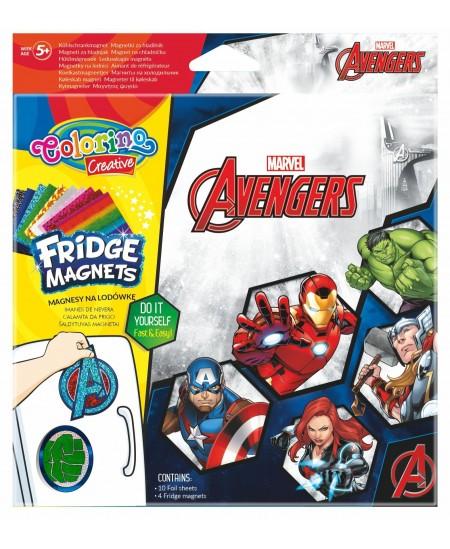 """Magnetukų kūrybinis rinkinys COLORINO Marvel \""""Keršytojai\"""""""