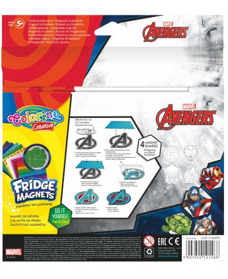 """Magnetukų kūrybinis rinkinys COLORINO Marvel """"Keršytojai"""""""