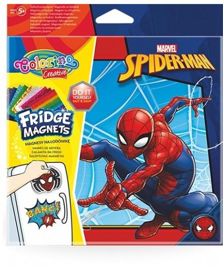 """Magnetukų kūrybinis rinkinys COLORINO Marvel \""""Žmogus voras\"""""""