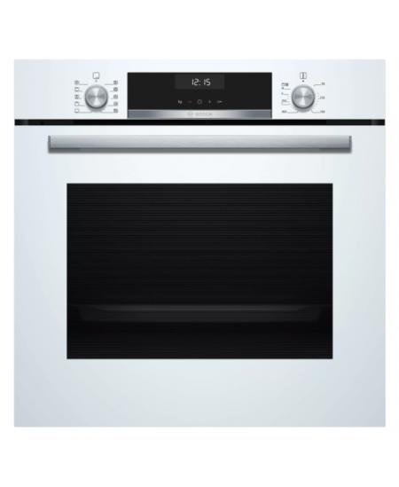Bosch Oven HBT517CW0S 71 L, A, Built-in, Regular, Mechanical, Height 59.5 cm, Width 59.4 cm, White