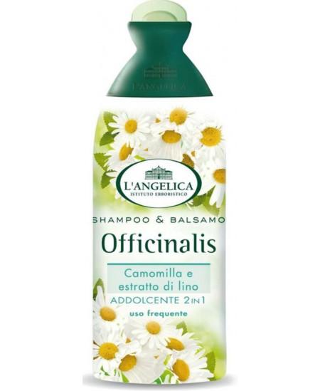Šampūnas ir kondicionierius, L´ANGELICA OFFICINALIS, su ramunėlių ir linų sėmenų ekstraktu, 250 ml