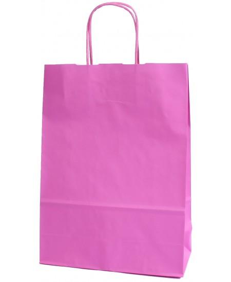 Dovanų maišelis 32x23x10 cm, rožinis