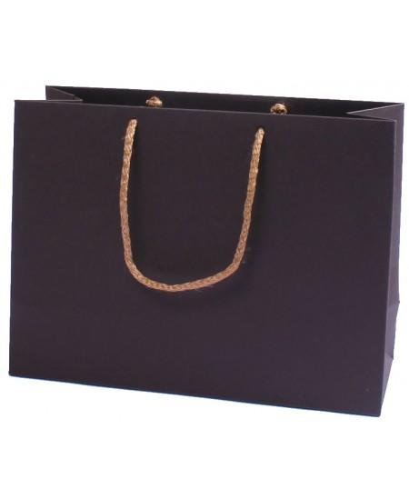 Dovanų maišelis, 18x24x9 cm, rudas