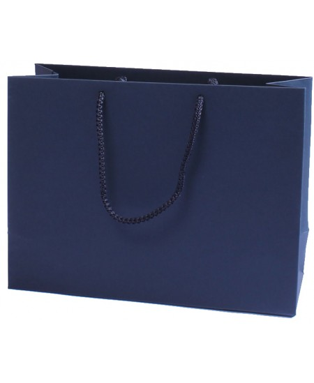 Dovanų maišelis, 18x24x9 cm, mėlynas