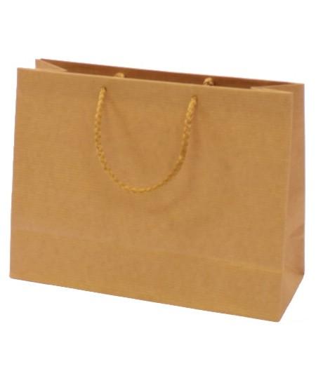 Dovanų maišelis 18.5x24x9 cm, rudas