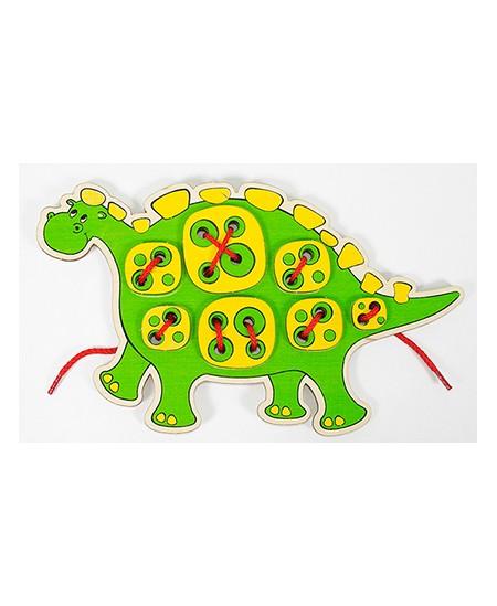 """Varstyklė \""""Žaliasis Dino\"""""""