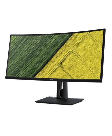 """Acer CZO Series CZ340CKBbmijqphuzx 34"""" IPS/3440x1440/21:9/5ms/300/100M:1/HDMI,DisplayPort,USB 3.1 Type-C,USB Hub/Black"""