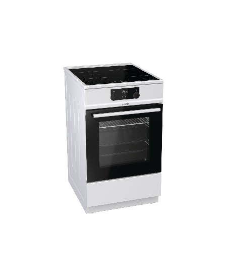 Gorenje Cooker EIT5355WPG Hob type Induction, Oven type Electric, White, Width 50 cm, Electronic ignition, Grilling, 71 L, Depth