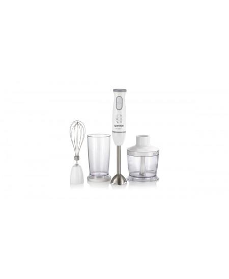 Gorenje Blender HBC564QW Hand Blender, 560 W, Mini chopper, Blade material Stainless steel, White