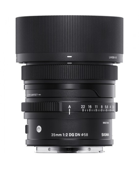 Sigma 35mm F2.0 DG DN lens (Contemporary) Sony E
