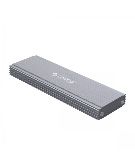 Orico NGFF M.2 SSD Enclosure PRM2F-C3-GY-BP SATA Revision 3.0 M.2 B-Key, Portable SSD Case, USB 3.1 Type-C