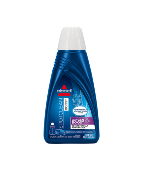 Bissell Spotclean Oxygen Boost Carpet Cleaner Stain Removal For SpotClean and SpotClean Pro, 1000 ml