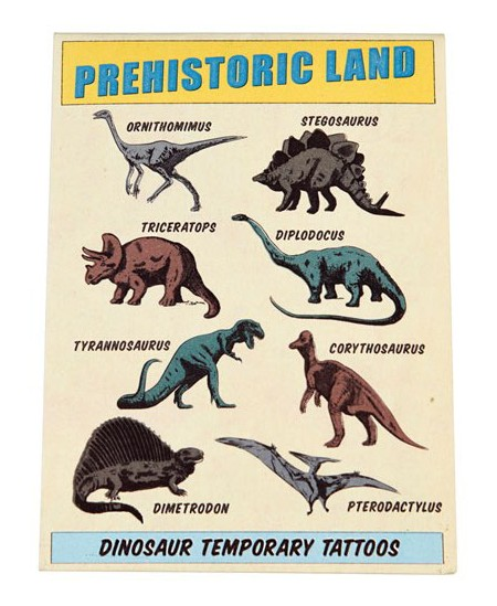 "Tatuiruotės REX LONDON \""Prehistorical Island\"""