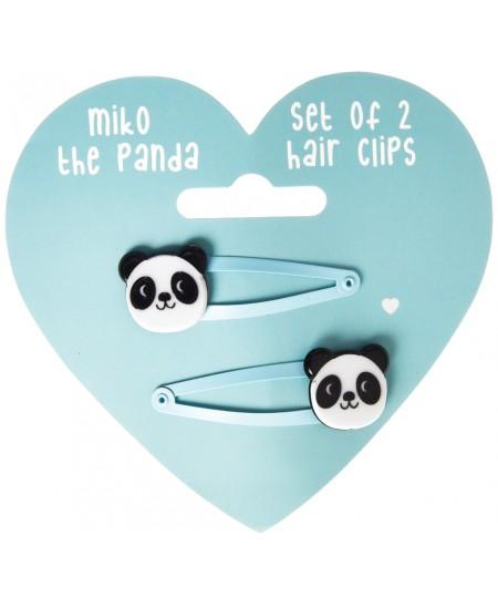 "Plaukų segtukai REX LONDON \""Miko the Panda\"", 2 vnt."