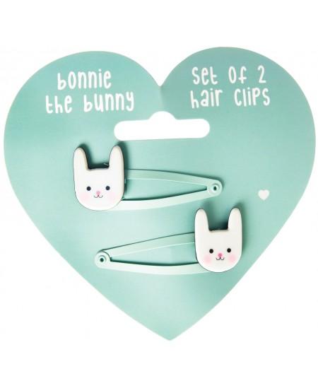 "Plaukų segtukai REX LONDON \""Bonnie the Bunny\"", 2 vnt."