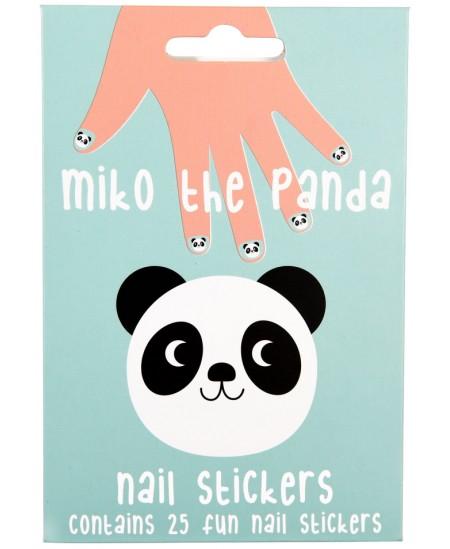 """Nagų lipdukai REX LONDON \""""Miko the Panda\"""", 25 vnt."""