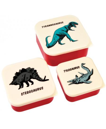 """Užkandžių dėžučių rinkinys REX LONDON \""""Prehistorical Island\"""", 3 vnt."""