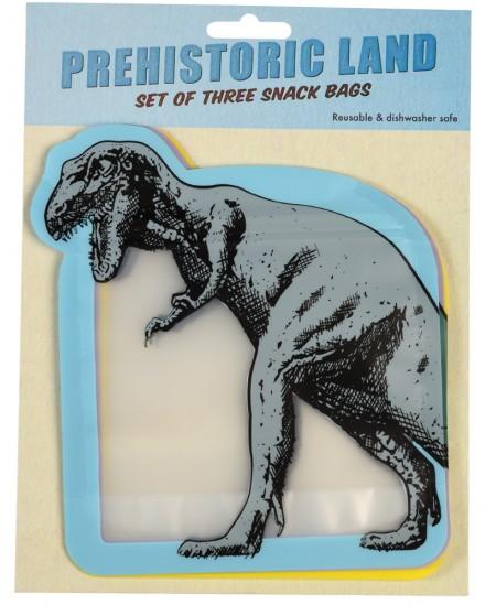 """Užkandžių maišeliai REX LONDON \""""Prehistorical Island\"""", 3 vnt."""