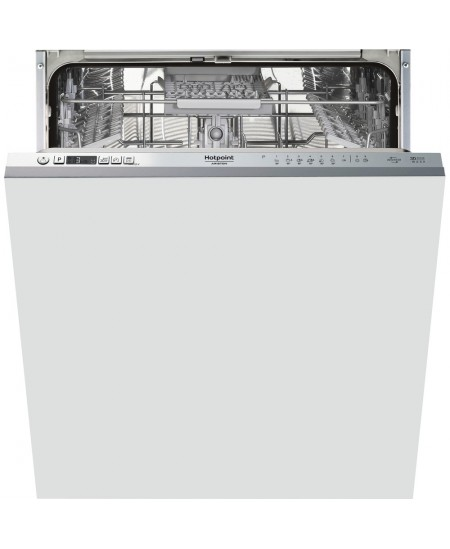 Hotpoint Dishwasher HIC 3C41 CW Built-in, Width 59.8 cm, Number of place settings 14, Number of programs 6,  A +++, Display, Sil