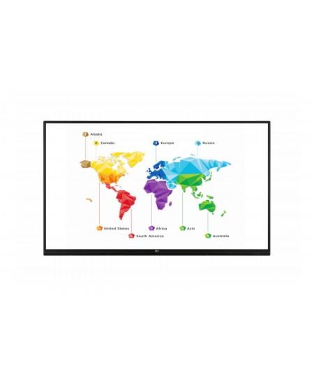"LG 75TR3BF-B  75 "", 330 cd/m², Landscape, 16/7, Touchscreen, 178 °, 8 ms, 178 °, 3840 x 2160 pixels, 330 cd/m²"