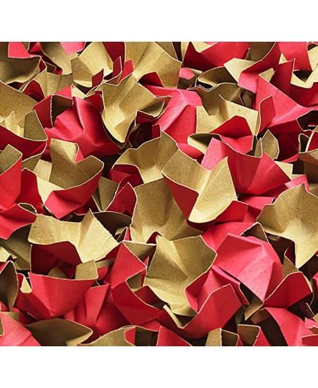 Popierinės drožlės, 120 l, raudonas ir rudos spalvos