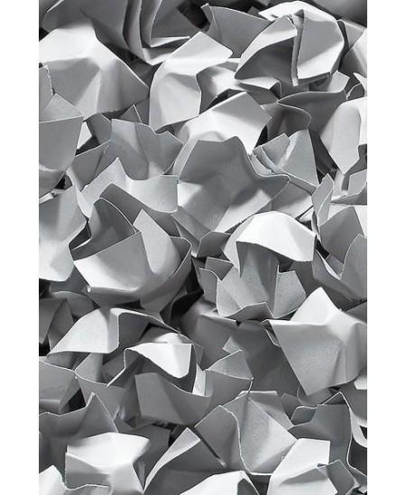Popierinės drožlės, 120 l, sidabrinės spalvos