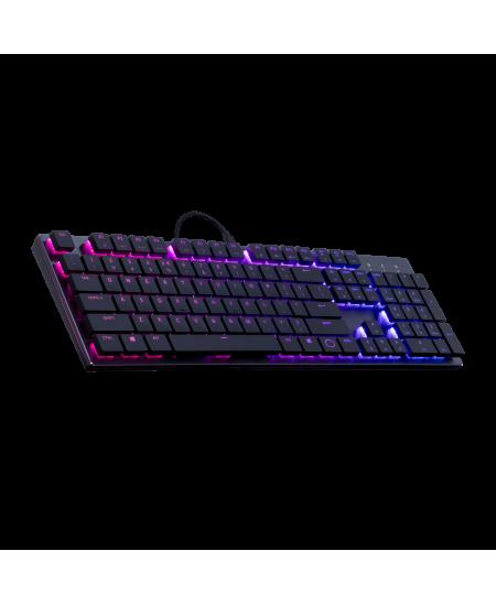 Cooler Master SK650 Mechanical Gaming keyboard, USB, Keyboard layout US, Gunmetal Black