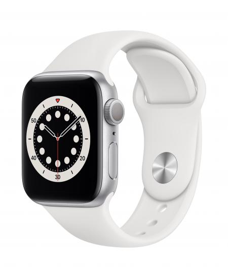 Apple Series 6 GPS Smart watch, GPS (satellite), LTPO OLED Retina, Touchscreen, Heart rate monitor, Waterproof, Bluetooth, Wi-Fi