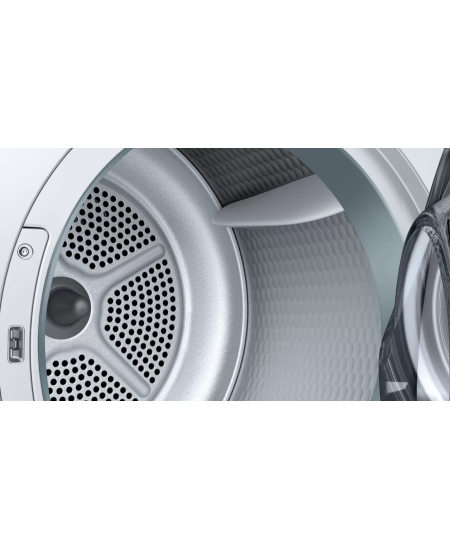 Bosch Dryer mashine WTR86TL8SN Energy efficiency class A++, Front loading, 8 kg, Sensitive dry, LED, Depth 60 cm, White