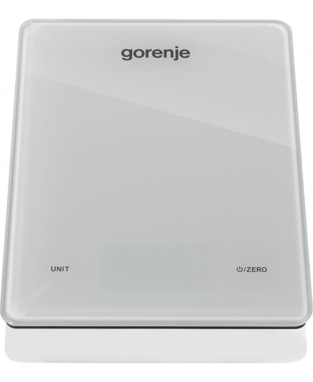 Gorenje Kitchen Scale KT05 LBW Electronic, Graduation 1 g, Maximum weight (capacity) 5 kg, Display type LED, White