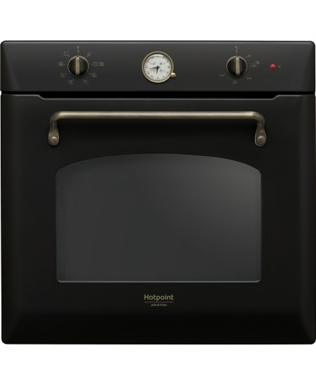 Hotpoint Oven FIT 801 H AN HA 73 L, Built-in, Steam cleaning, Mechanical, Height 59.5 cm, Width 59.5 cm, Anthracite
