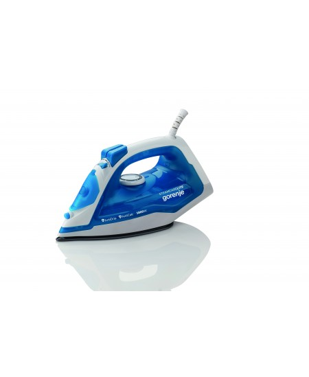 Gorenje SIH1800BLT Steam Iron, 1800 W, Water tank capacity 250 ml, Continuous steam 25 g/min, Blue/White