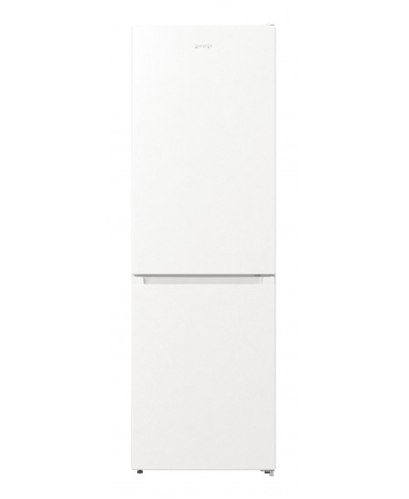 Gorenje Refrigerator NRK6191EW4 A +, Free standing, Combi, Height 185 cm, No Frost system, Fridge net capacity 203 L, Freezer ne