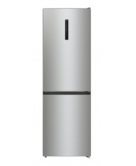Gorenje Refrigerator NRK6192AXL4 A ++, Free standing, Combi, Height 185 cm, No Frost system, Fridge net capacity 203 L, Freezer