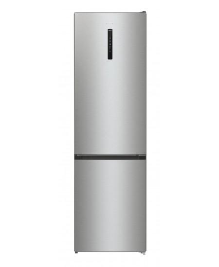 Gorenje Refrigerator NRK6202AXL4 A ++, Free standing, Combi, Height 200 cm, No Frost system, Fridge net capacity 235 L, Freezer