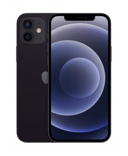 "Apple iPhone 12 Black, 6.1 "", XDR OLED, 2532 x 1170 pixels, Apple, A14 Bionic, Internal RAM 4 GB, 128 GB, Single SIM, Nano-"