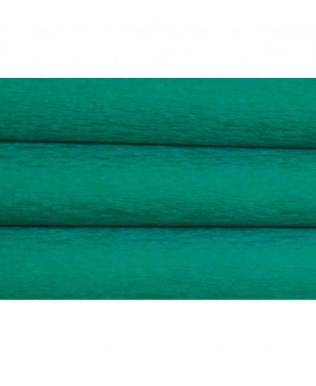 Krepinis popierius FIORELLO, smaragdinės žalios spalvos