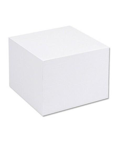 Lapeliai užrašams, 90 x 90 mm, balti, suklijuoti, 500 lapelių