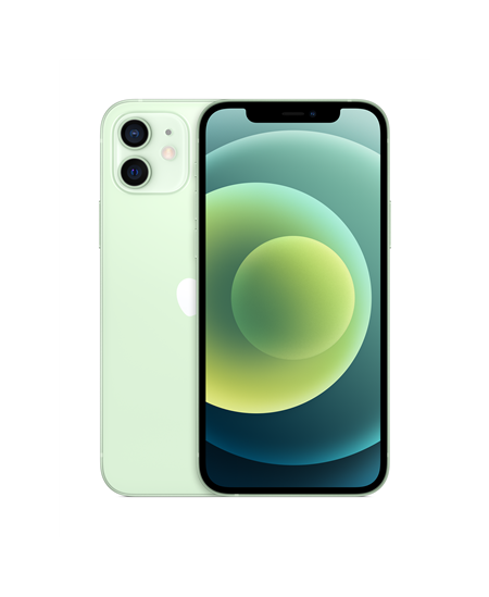 "Apple iPhone 12 Green, 6.1 "", XDR OLED, 2532 x 1170 pixels, Apple, A14 Bionic, Internal RAM 4 GB, 128 GB, Single SIM, Nano-"